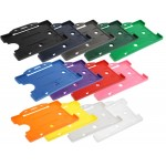 Open Faced Badge Holders - Colours Available