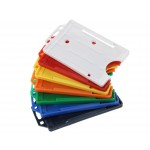 Open Faced Vertical Badge Holders - Colours Available