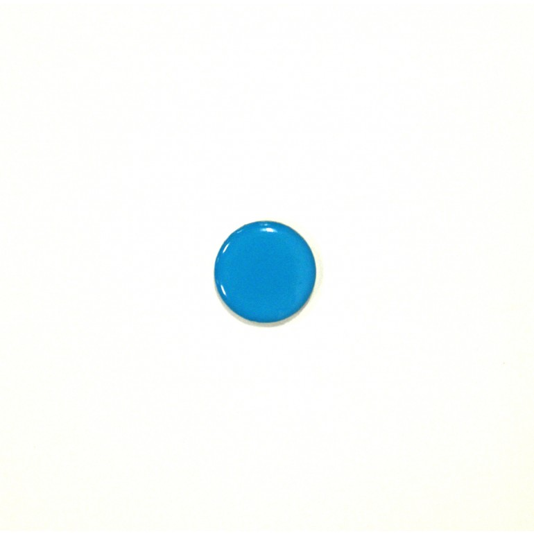 Dome Tag with MIFARE ULTRALIGHT in Light Blue (18mm)