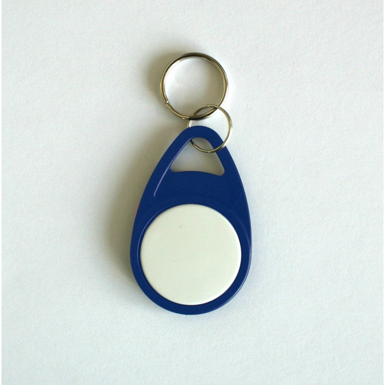Blue Tear Key Fob with White Face - MIFARE® Ultralight EV1