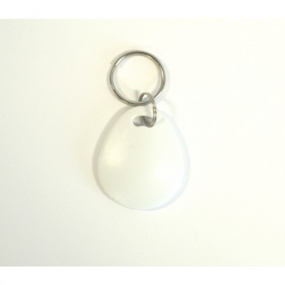White Clam Key Fob - MIFARE® Ultralight EV1