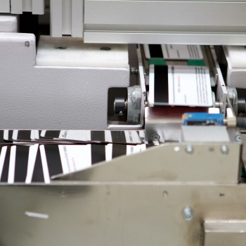 Printing Cards at Time of Manufacture