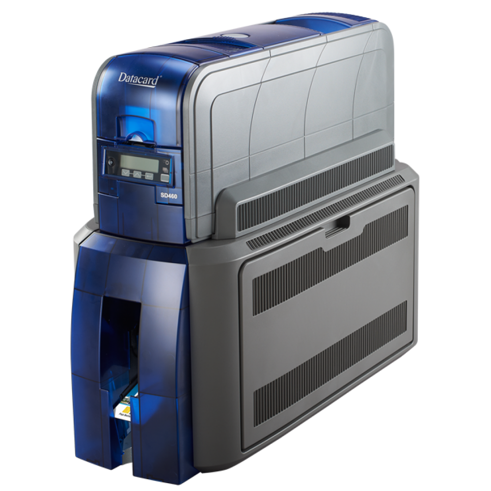 Datacard® SD460 Dual Sided Printer with Laminator - Front Angled
