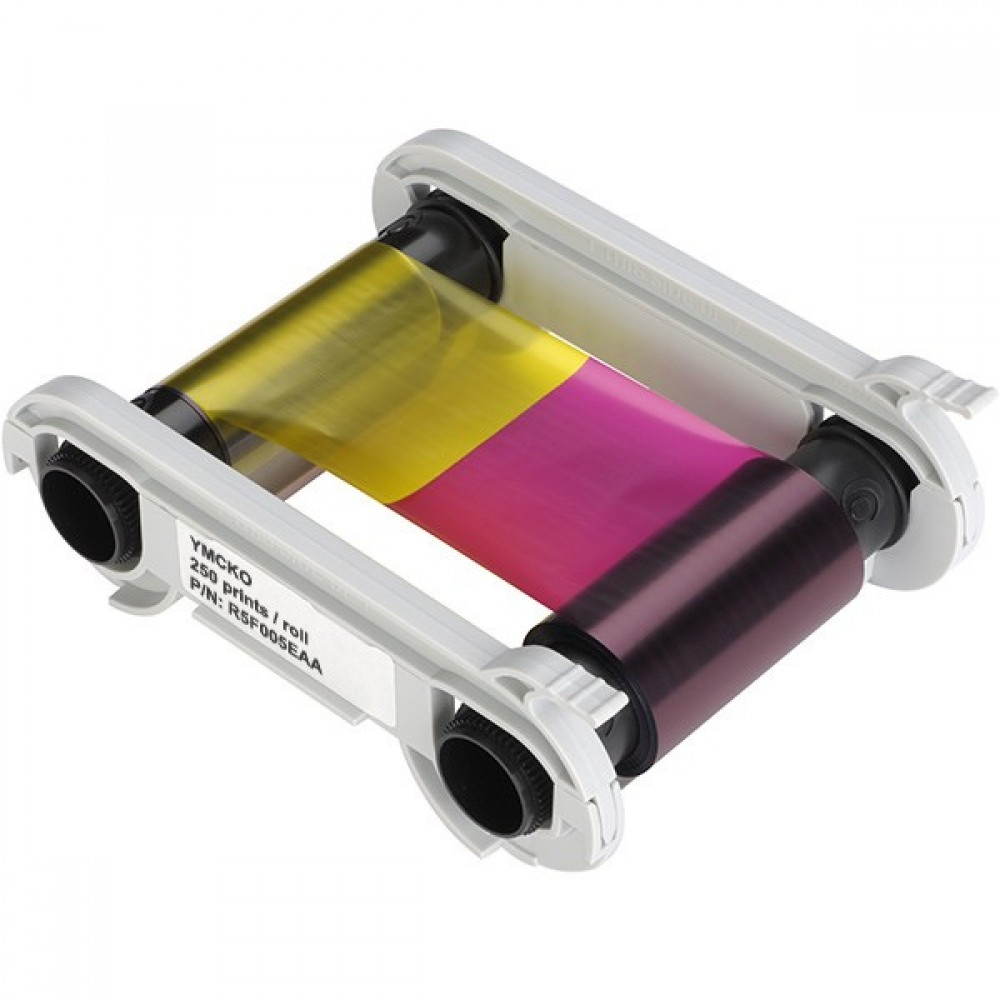 Evolis YMCKO Colour Ribbon - 200 Images (R3011)