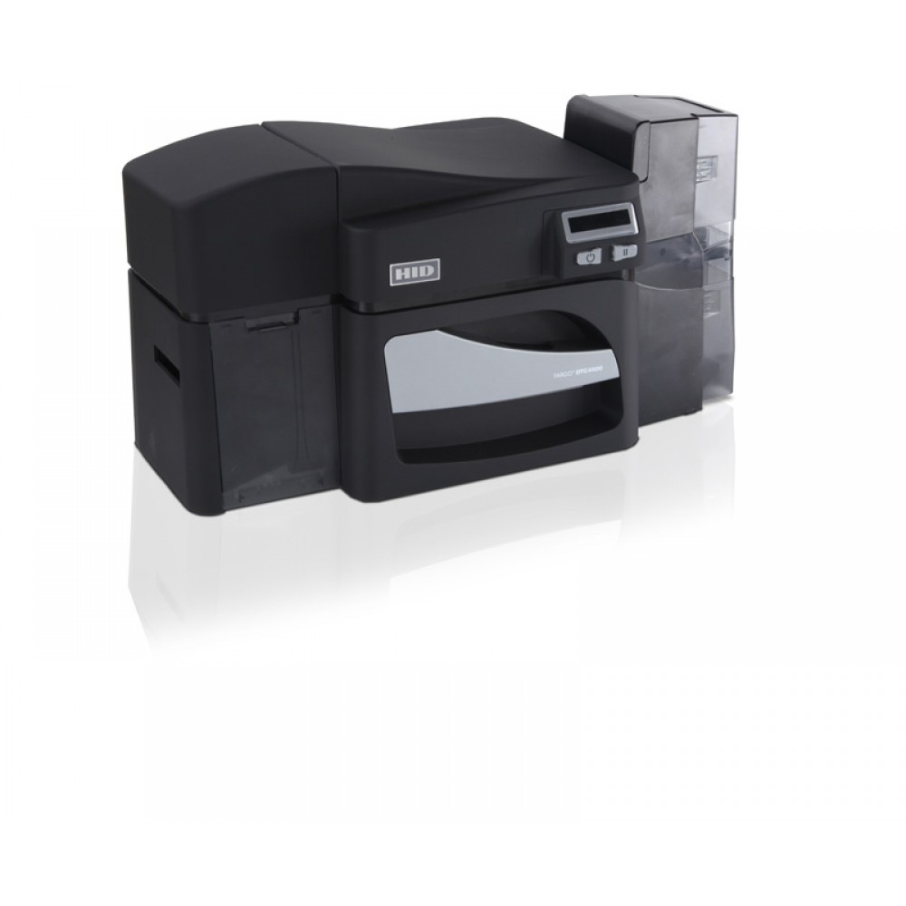 Fargo® DTC4500e Printer - Same Side Input Card Hopper