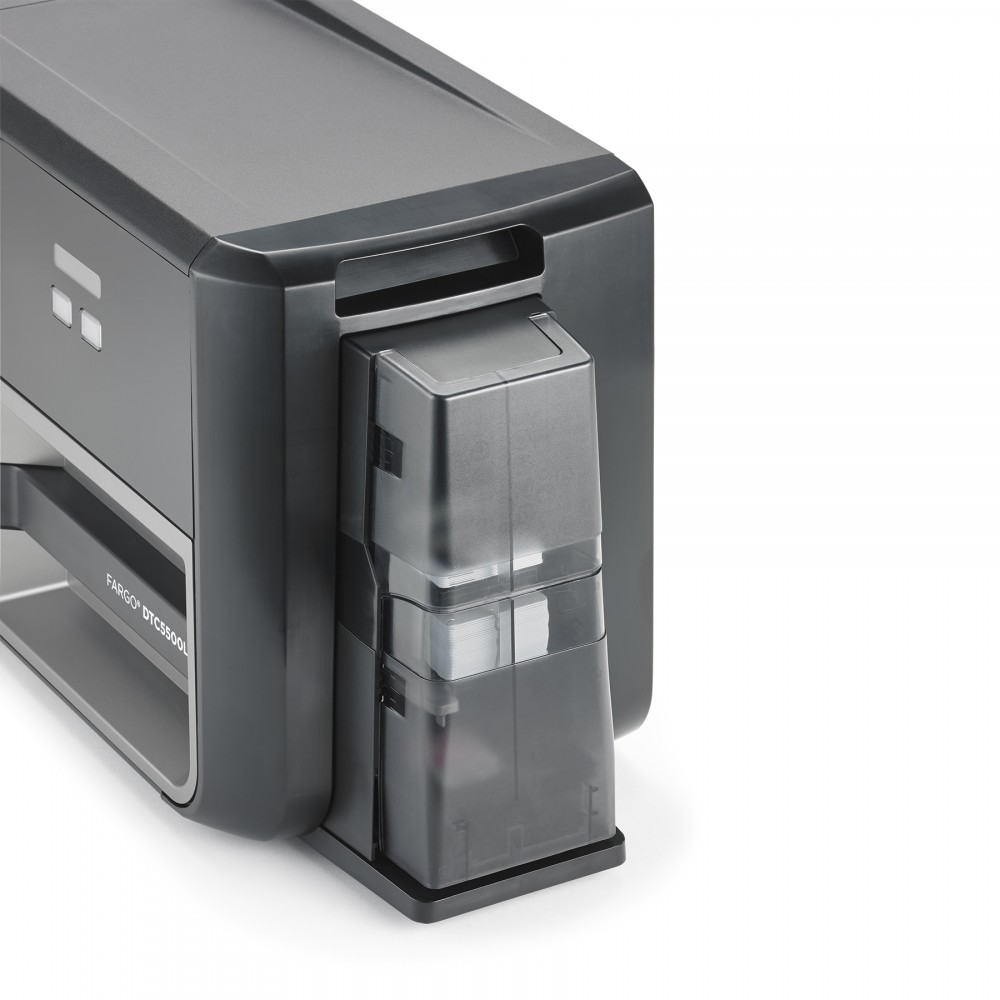 Fargo® DTC5500LMX Side Card Slot View