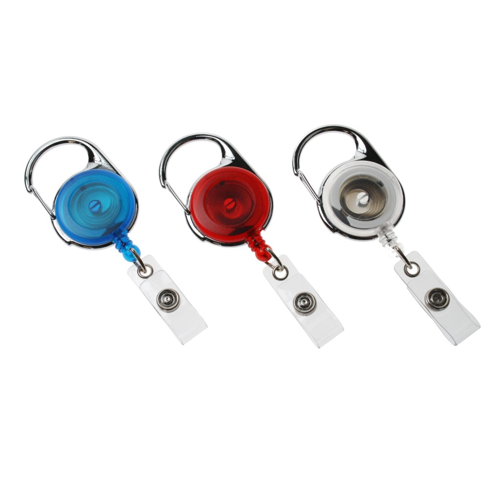 Premier Badge Reel - Clear - Pack of 100