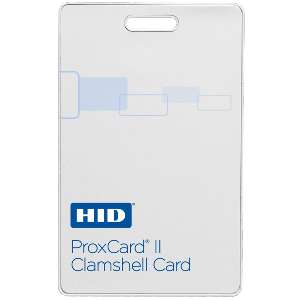 ProxCard® II Proximity Access Card (Clam Shell)
