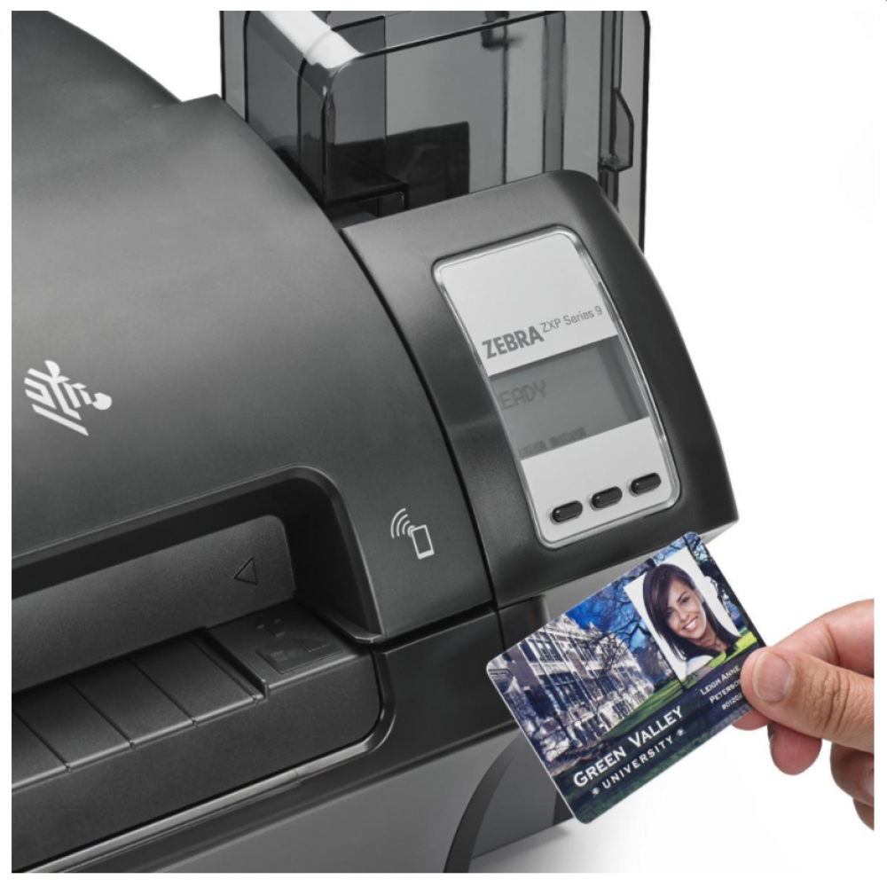 Zebra ZXP9 Dual Sided Printer - With Card