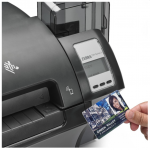 Zebra ZXP9 Single Sided Printer - With Card