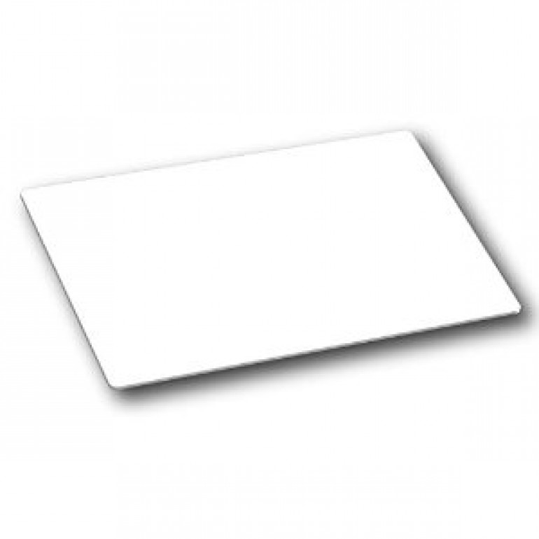 NTAG 210 ISO Card, White Gloss Finish