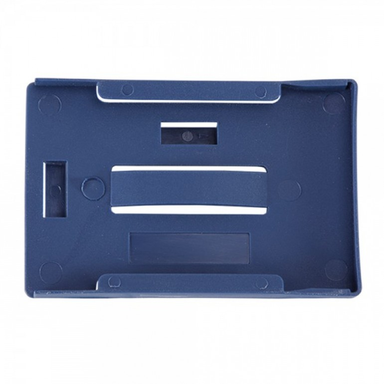 3 Card Multicard Holder - Blue- Pack of 100