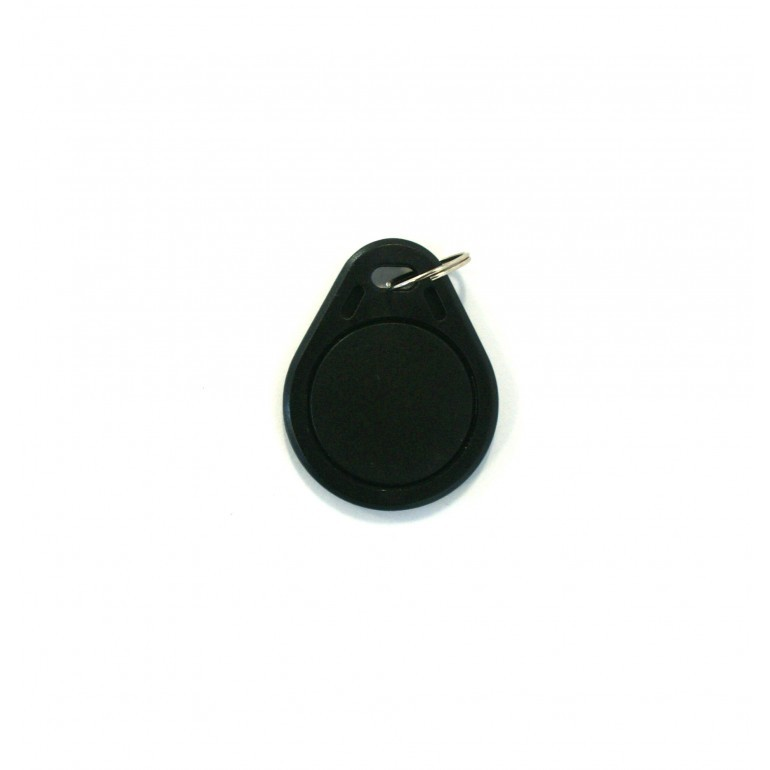 Black Basic Key Fob - MIFARE® Ultralight EV1
