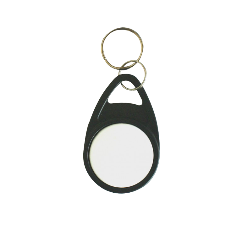 Black Tear Keyfob with White Face - MIFARE® 1K EV1