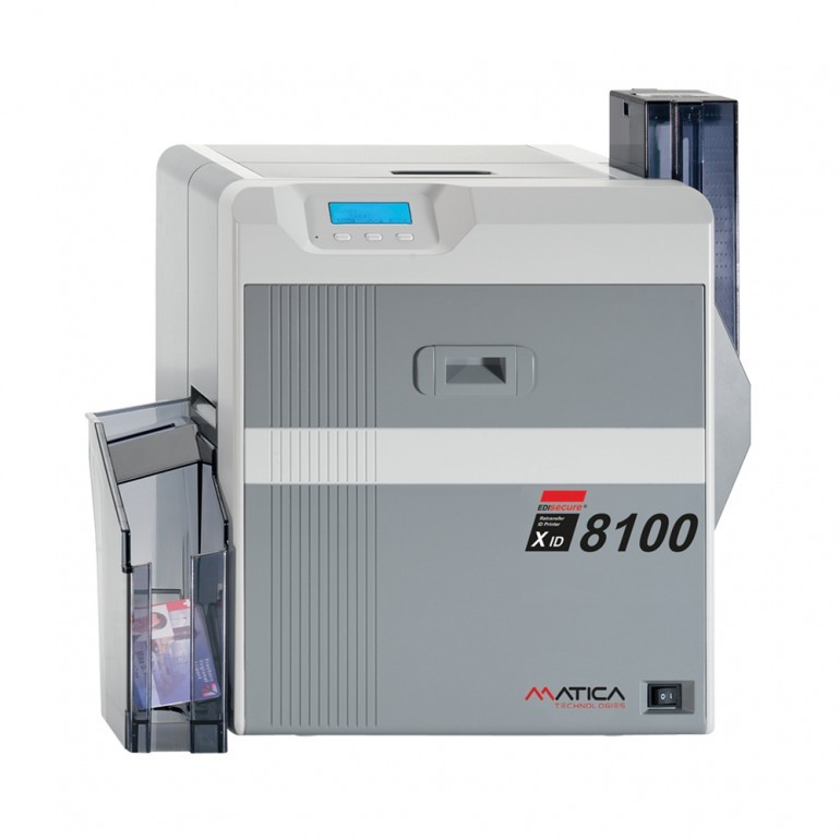 Matica XID 8100 Smart Card Printer - Front