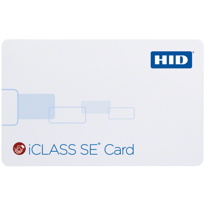 iClass SE Contactless Smart Card (2K bit with 2 application areas)