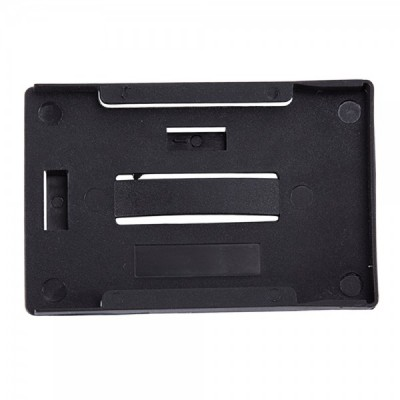 3 Card Multicard Holder - Black - Pack of 100