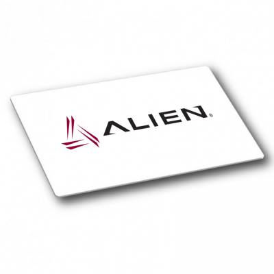 Alien Higgs 3 9662 UHF Blank White Card - Gloss Finish (ISO)
