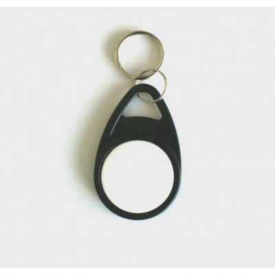 Black Tear Key Fob with White Face - MIFARE® Ultralight EV1