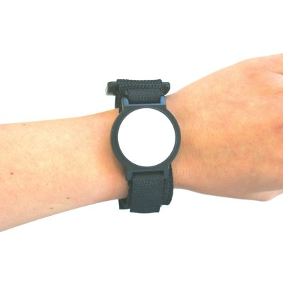 Black Nylon Velcro Strap with White Face - EM4200