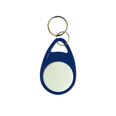 Blue Tear Key Fob with White Face - EM4200