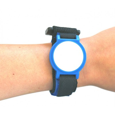 Blue Nylon Velcro Strap with White Face - NXP MIFARE® Ultralight EV1