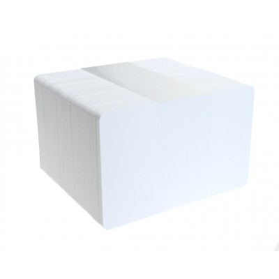 Standard White PVC Card, CR80, 760 Micron, High Grade