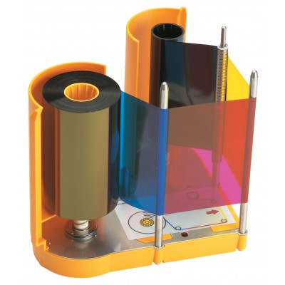 Datacard YMCKT Colour Ribbon -  500 Images (534000-003)