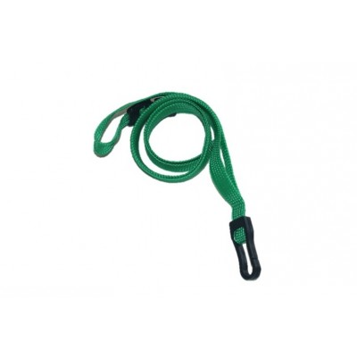 Essential Breakaway Lanyards with Plastic Clip – Light Green – 100 Pack