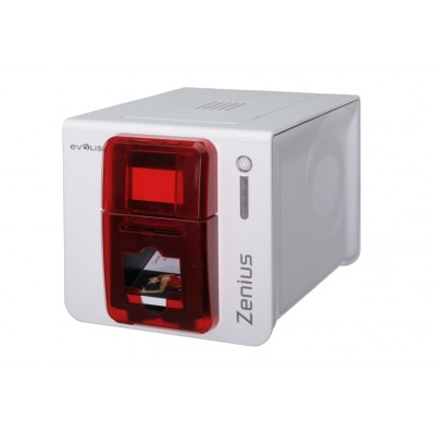 Evolis Red Zenius Expert Printer - 50 Card Input Hopper