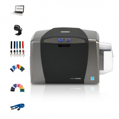 Fargo DTC1250e (Single-Sided) Printer Bundle