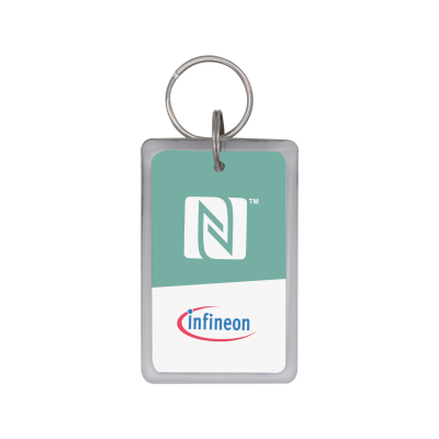 Infineon® SECORA™ Pay W - NFC Type 4 Tag Reference Fobs - Front