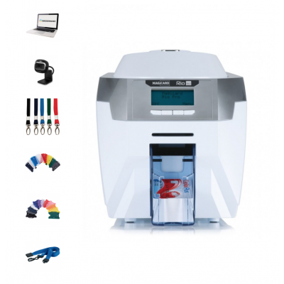 Magicard Rio Pro (Dual-Sided) Printer Bundle