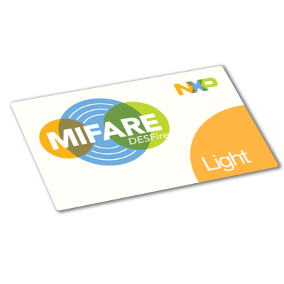 MIFARE® DESFire Light White PVC Card