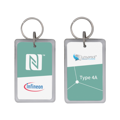 Infineon® SECORA™ Pay W - NFC Type 4 Tag Reference Fobs- Type A