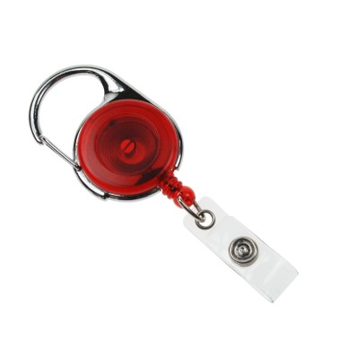 Premier Badge Reel - Red - Pack of 100