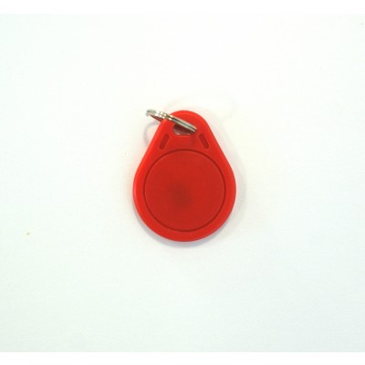 Red Basic Keyfob - MIFARE® 1K EV1