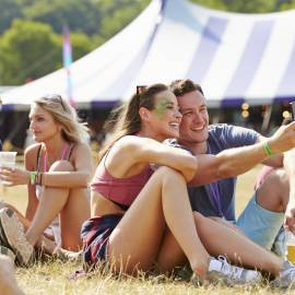 How can NFC be used at festivals?