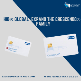 HID® Global expand the Crescendo® Family with Supported FIDO2 Authentication Converged Smart Cards and Keys!