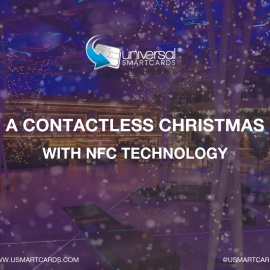 A Contactless Christmas…. Revolutionising your festive events with NFC technology!